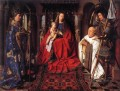 The Madonna with Canon van der Paele Renaissance Jan van Eyck