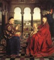 The Virgin of Chancellor Rolin Renaissance Jan van Eyck