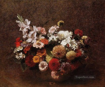 bouquet art - Bouquet of Flowers Henri Fantin Latour