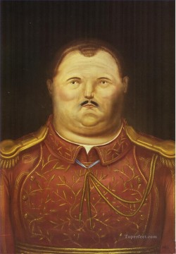 A General Fernando Botero Oil Paintings