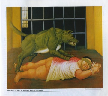 Abu Ghraib 2 Fernando Botero Oil Paintings