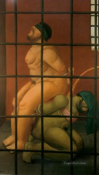 Abu Ghraib 58 Fernando Botero Oil Paintings