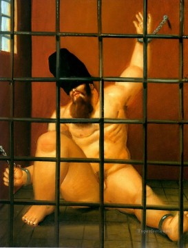 Abu Ghraib 63 Fernando Botero Oil Paintings