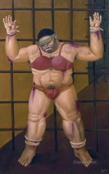 Abu Ghraib Fernando Botero Oil Paintings