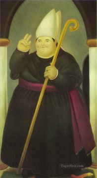 Botero Works - Bishop Fernando Botero