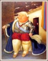Louis XVI on a Visit to Medellin Fernando Botero