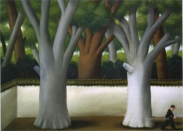 Man at the Street Fernando Botero Oil Paintings