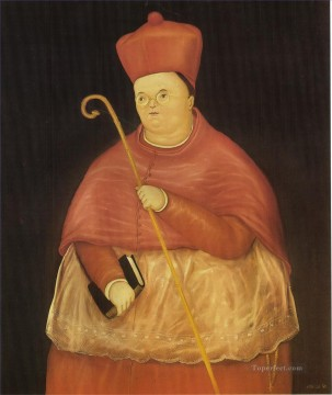 Nuncio Fernando Botero Oil Paintings