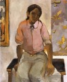 Portrait of a Young Indian Fernando Botero