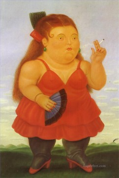 spanish spain Painting - Spanish Fernando Botero