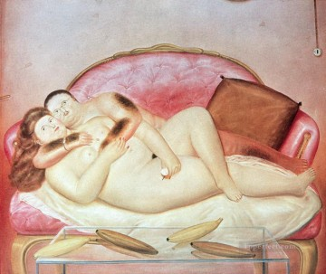 Sweaty Hairy Rotund Fernando Botero Oil Paintings