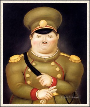 The Captain Fernando Botero Oil Paintings