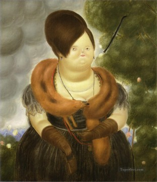 The First Lady Fernando Botero