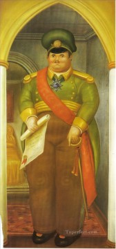 The Palace 2 Fernando Botero Oil Paintings