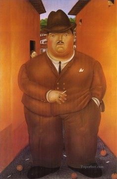 Botero Works - The Street 2 Fernando Botero