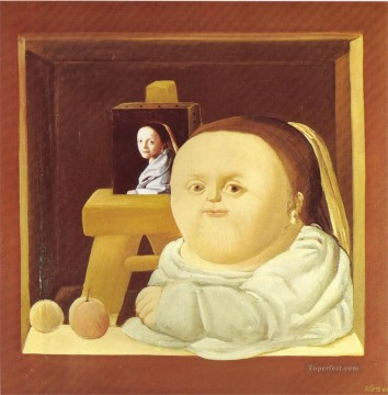 Botero Works - The Study of Vermeer Fernando Botero