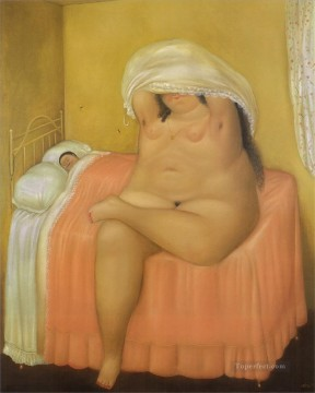 Love Painting - Lovers 3 Fernando Botero