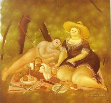 Botero Works - Luncheon on the Grass Fernando Botero