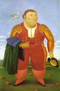 Matador 2 Fernando Botero Oil Paintings