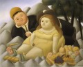 Picnic in the Mountains Fernando Botero
