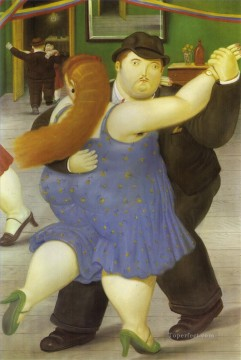 The Dancers Fernando Botero Oil Paintings