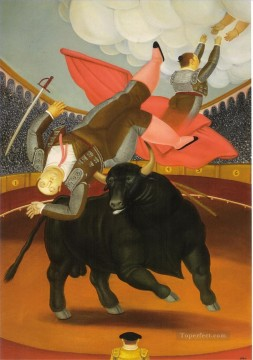 The Death of Luis Chalet Fernando Botero Decor Art