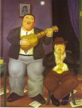 The Musicians Fernando Botero Decor Art