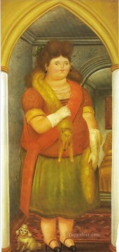 The Palace Fernando Botero Oil Paintings