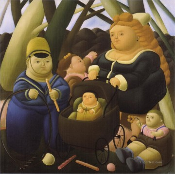 children Canvas - Children Fortunes Fernando Botero