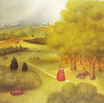 Excursion to the Ecumenical Cioncile Fernando Botero Oil Paintings