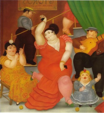 Flamenco Fernando Botero Decor Art