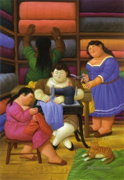 The Designers Fernando Botero Oil Paintings
