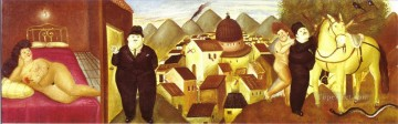 The Murder of Anna Rosa Caderonne 2 Fernando Botero Oil Paintings