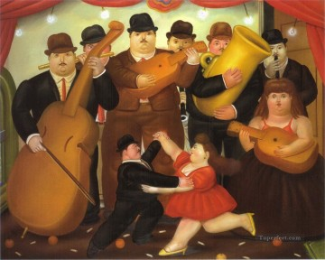 Dance in Colombia Fernando Botero Decor Art