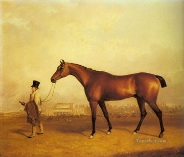 ferneley oil painting - Emilius Winner Of The 1832Derby horse John Ferneley Snr