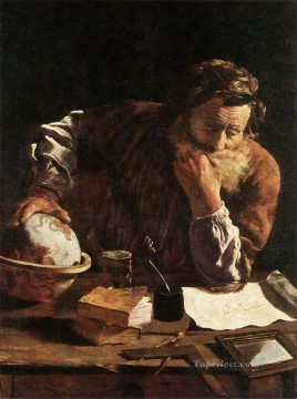 Domenico Fetti Painting - Portrait Of A Scholar Baroque figures Domenico Fetti