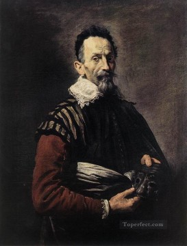 Domenico Fetti Painting - Portrait Of An Actor Baroque figures Domenico Fetti