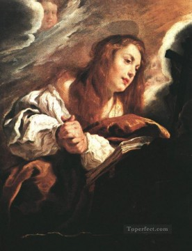 Domenico Fetti Painting - Saint Mary Magdalene Penitent Baroque figures Domenico Fetti