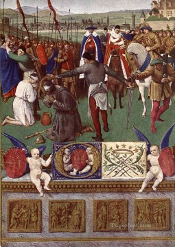 The Martyrdom Of St James The Great Jean Fouquet Oil Paintings