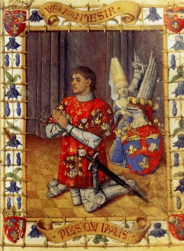 Hour Painting - Hours Of Simon De Varie Jean Fouquet
