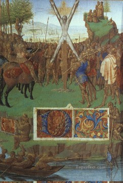 Martyrdom Of St Andrew Jean Fouquet Oil Paintings