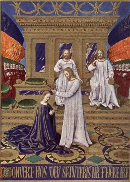 The Coronation Of The Virgin Jean Fouquet Oil Paintings