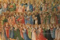 Christ Glorified In The Court Of Heaven Renaissance Fra Angelico