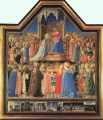 Coronation Of The Virgin Renaissance Fra Angelico