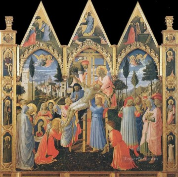 Deposition Renaissance Fra Angelico Oil Paintings