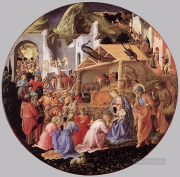 The Adoration Of The Magi Renaissance Fra Angelico Oil Paintings