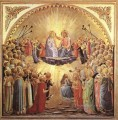 The Coronation Of The Virgin Renaissance Fra Angelico