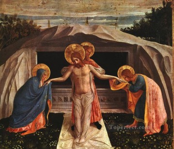 Entombment 1438 Renaissance Fra Angelico Oil Paintings