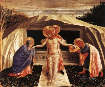 Entombment Renaissance Fra Angelico Oil Paintings