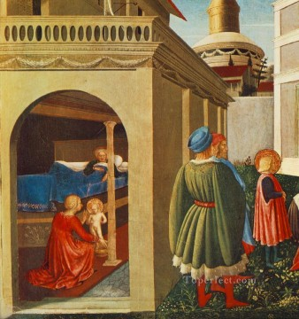 Story Of St Nicholas Birth Of St Nicholas Renaissance Fra Angelico Oil Paintings